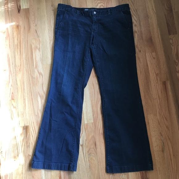 Mossimo Supply Co. Pants - Mossimo trouser denim pants size 16